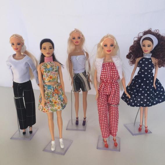 Kit 15 Roupas Roupinhas Para Boneca Barbie ( Não Repete )