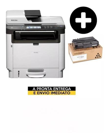 Multifuncional Ricoh Sp-3710sf Sp3710+ Toner Extra Original