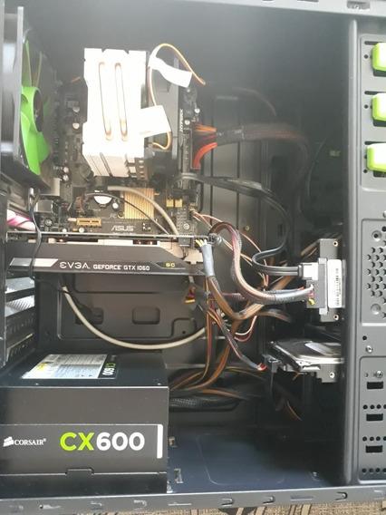 Pc Gamer Core I7 4770k, Gtx 1060 3gb, 16gb Ram
