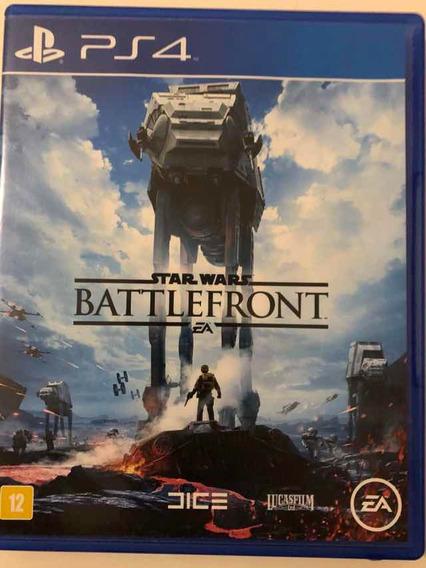 Star Wars Battlefront - Ps4 - Mídia Física