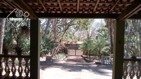 Chácara Com 3 Dormitórios À Venda, Condomínio Estância Beira Rio - Jardinópolis/sp - Ch0054
