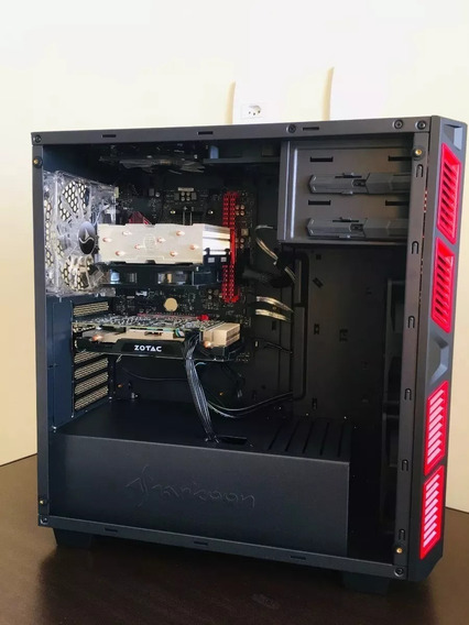 Pc Gamer Ryzen7 1800x Ddr4 16g Gtx1060 6g Nvme 256gb