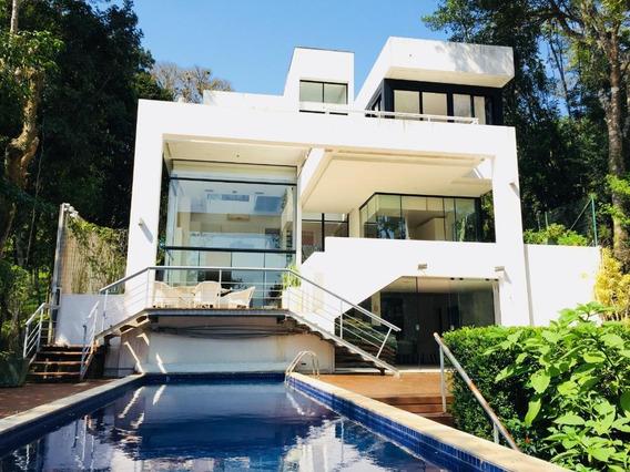 Lindíssima Casa Com 4 Suítes, À Venda, 620 M²- Lagoa Da Conceição - Florianópolis/sc - Ca2149