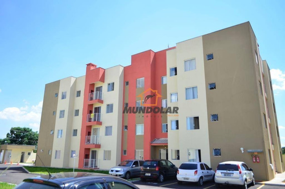 Apartamento Com 2 Dormitórios À Venda, 52 M² Por R$ 175.000 - Estação - Araucária/pr - Ap2152