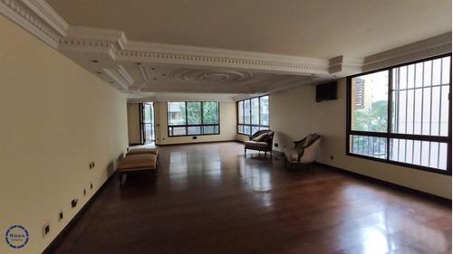 Apartamento Com 4 Suítes Em Bairro Nobre De Santos - V13260