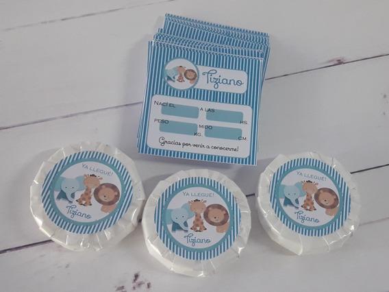 10 Jabones Personalizados! Souvenir Nacimiento, Baby Shower!