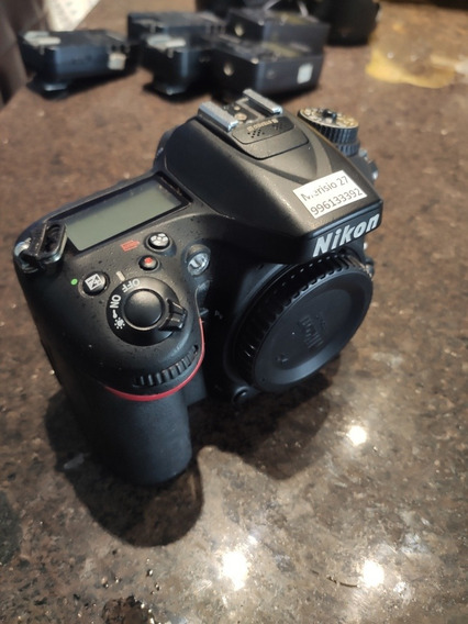 Nikon D7100 Baixo Número De Cliqies N D7000 D7500 D610