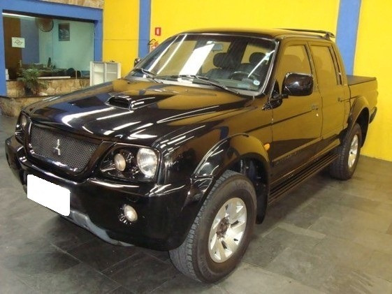 Mitsubishi L200 Preta 2.5 Sport Hpe Cd 4x4 Diesel 4p