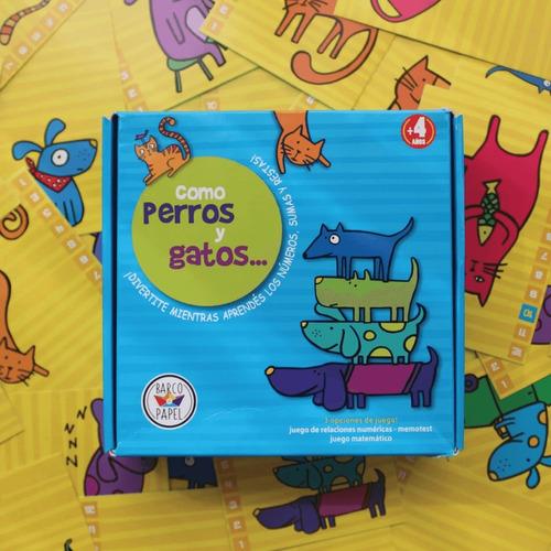 Imagen 1 de 3 de Como Perros Y Gatos - Juegos Para Niños - Lakalumba