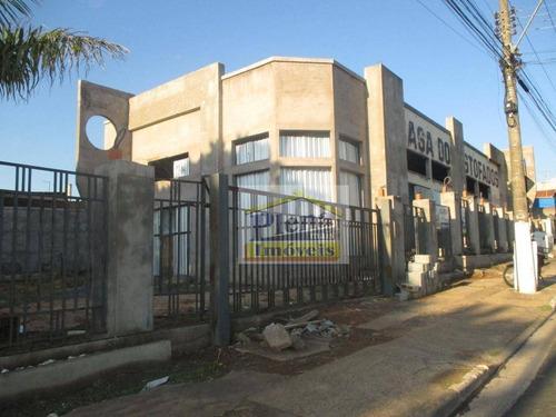Barracão Para Alugar, 500 M² Por R$ 15.000,00/mês - Vila Real - Hortolândia/sp - Ba0193
