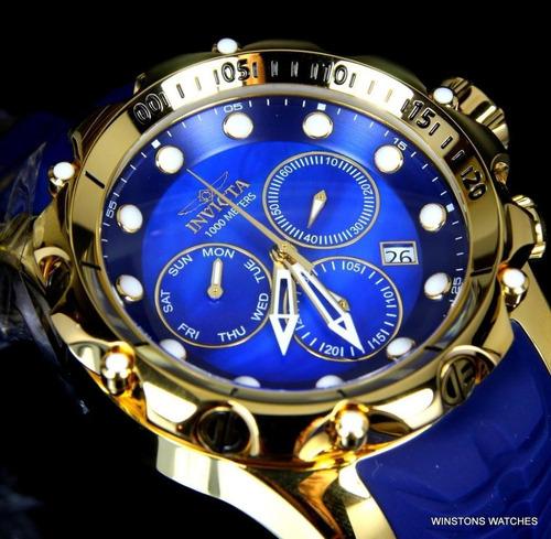 Reloj Hombre Invicta 52mm Venom Sea Dragon 100% Original