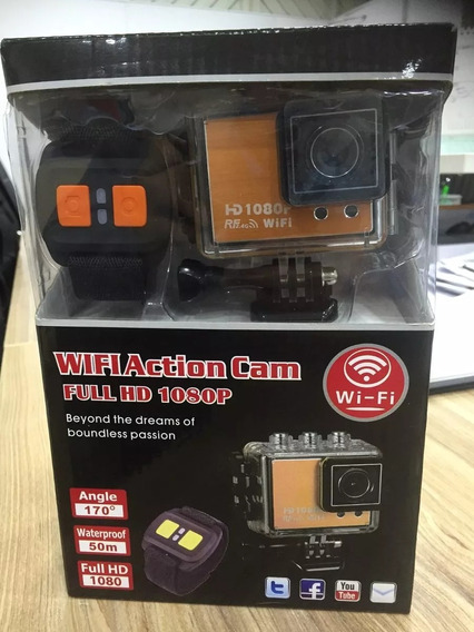 Camera Sport Cam Full Wi-fi Action Hd 1080p