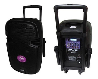Bafle Parlante Potenciado Gbr Pl-1240 Powered Eco Series Mp3