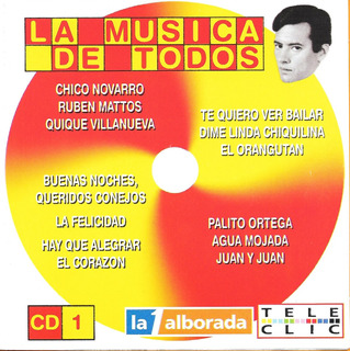 La Musica De Todos Cd 1 - Grandes Exitos Bailables De Los 70