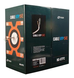 Cable Utp Noganet -bobina 305 Mtrs-