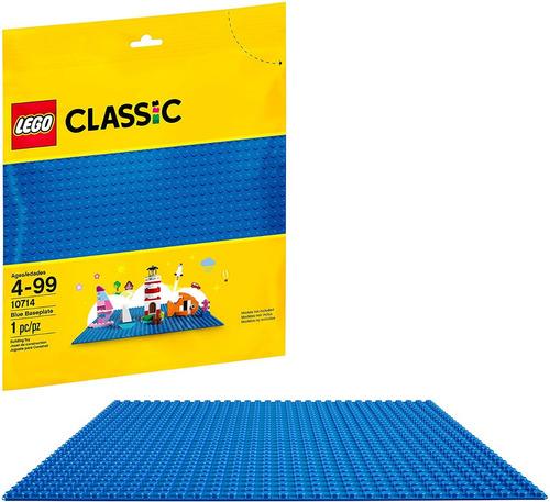Lego Classic Blue Baseplate 10714 Kit De Construcción 1 Pza
