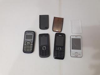 Lote De Celulares Nokia Sony Ericson Retirada De Peças