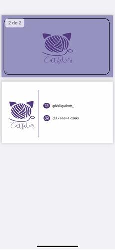 Imagem 1 de 2 de Cartão De Visita, Logo
