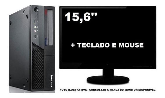 Lenovo Thinkcentre M58 Dualcore 8gb Ddr3 120ssd