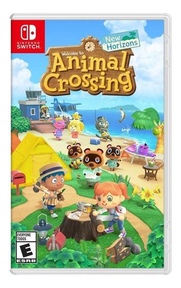 Animal Crossing New Horizons Switch Lacrado Pronta Entrega