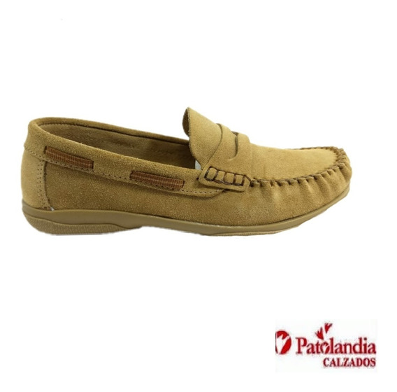 Zapatos Klivers Mocasín Náutico Unisex Negro/ Coco N° 27/33