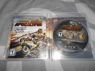 Motorstorm Apocalypse Español 2 Jugadores 3d Autos Carreras