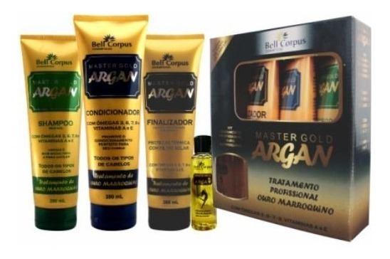 Kit Master Gold Argan