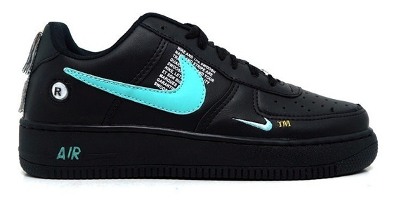 Tênis Mad Air Force 1 Mid Lv8 Low Ultility Cano Baixo Alto