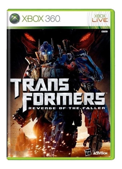Transformers Revenge Of The Fallen - Xbox 360 - Usado