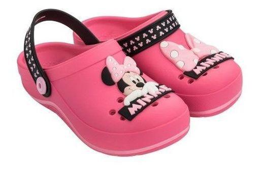 Babuche Grendene Kids Menina Disney Symbol Rosa Nº 23 Ao 34
