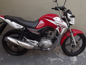 Honda Cg 150 Titan Esd 2014 Vermelha