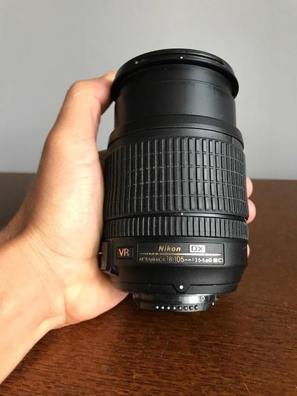 Lente Objetiva Nikon 18-105 - Afs Nikkor Vr F/3.5-5.6 G Ed
