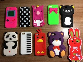 4 Cases iPhone 5, 5s 5c Ou Se Por 35,00