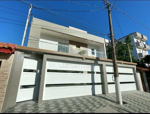 Sobrado De Condomínio Com 2 Dorms, Guilhermina, Praia Grande - R$ 248 Mil, Cod: 2439 - V2439