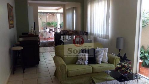 Casa À Venda, 150 M² Por R$ 550.000,00 - Residencial Jequitibá - Ribeirão Preto/sp - Ca2654