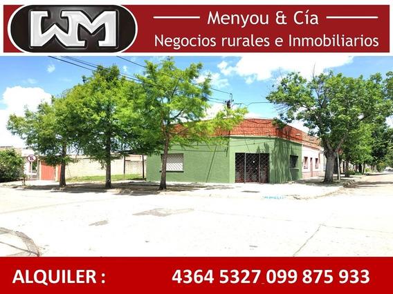 Alquiler Casa Trinidad Flores 1 O 2 Dormitorio Cochera Patio