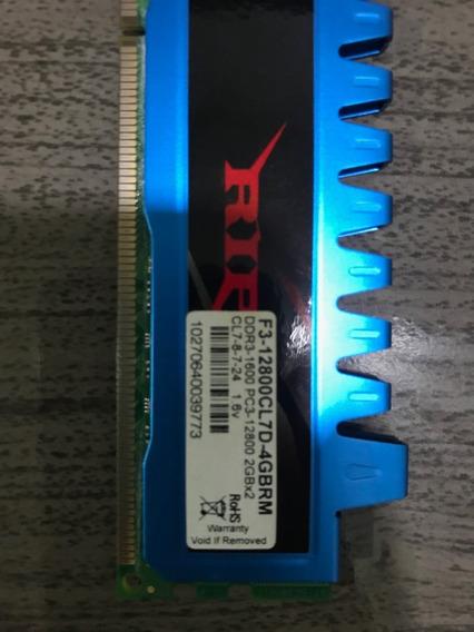 Mémória Ram Ddr 3 1600 - 2 Pentes De 2gb