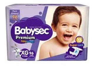 128 Pañales Babysec Premium Talla Xg