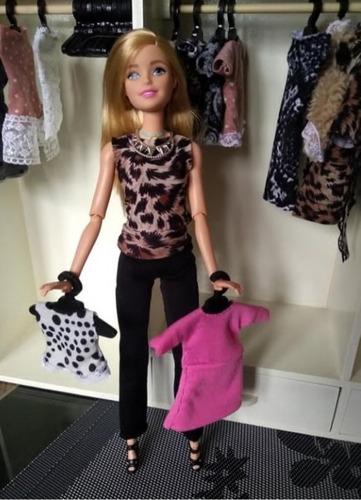 Imagen 1 de 10 de Ropa Para Barbies. Conjuntos Desde $ 450