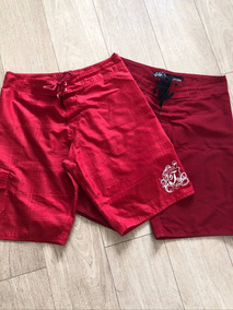 Lote Bermudas Shorts Microfibra Colcci Tng Tactel Tamanho M