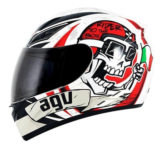 Capacete Agv K3 Rider To The Bone