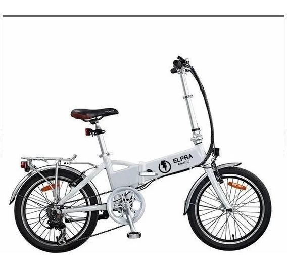 Bicicleta Electrica Elpra Plegable Ctas De$ 4850 Ciclofox