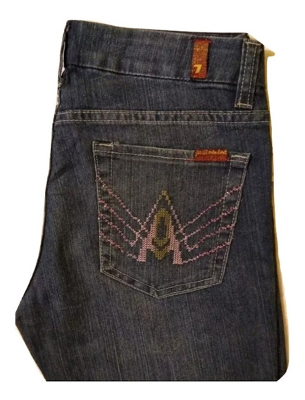 Seven For All Mankind Jeans Para Dama 27r. Revival, True R.