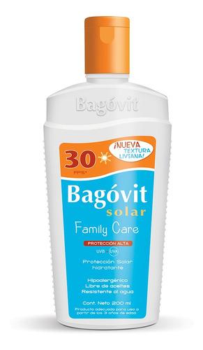 Bagovit Protección Solar Fps30 Emulsión Hidratante 200ml
