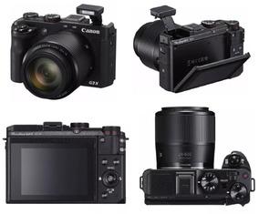 Câmera Canon Powershot G3x 20.2mp/zoom 25x/wifi/nfc/fhd