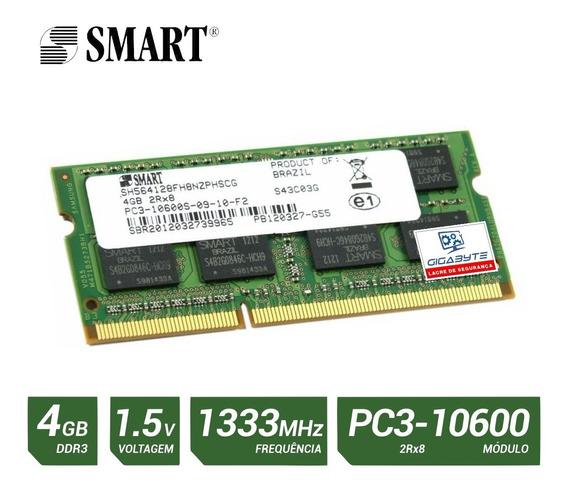 C32 Memoria Notebook 4gb Ddr3 Pc3 10600 1333 1.5v 2rx8
