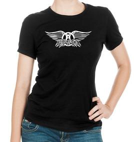 Playeras Y Blusas Para Dama Modelo Aerosmith Ropa Barata