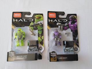 Jefe Maestro Master Chief Lang Odst Halo Mega Bloks Serie 11