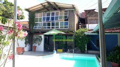 Casa Com 5 Dormitórios À Venda, 420 M² Por R$ 850.000 - Jardim Atlântico - Olinda/pe - Ca0163