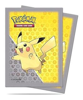 65 Ultra Pro Pikachu Pokemon Protectores De Cubierta Mangas